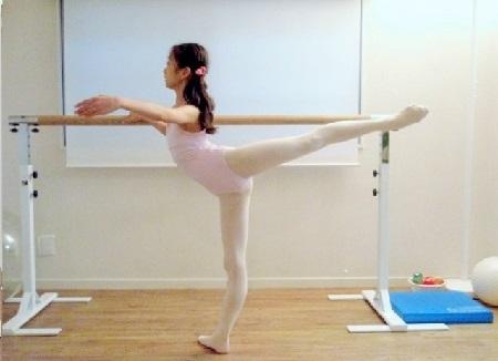 バレエ・アラベスクの改善例