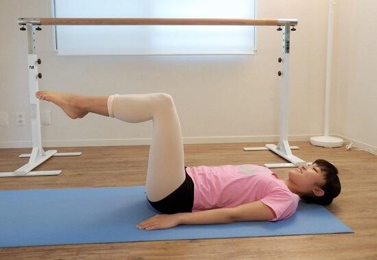 バレエ・引き上げに使う筋肉の強化